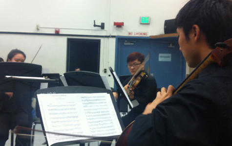 Student orchestra hits high note