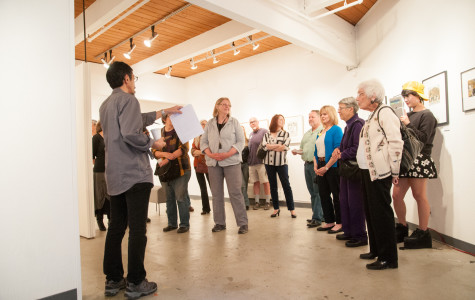 Submerged Bay Area etchers showcase at DVC art gallery