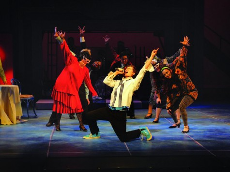 """""""The Wedding Singer"""" marries film and theatre in a hilarious performance"""