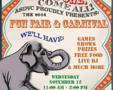 Upcoming News: ASDVC will host fun fair