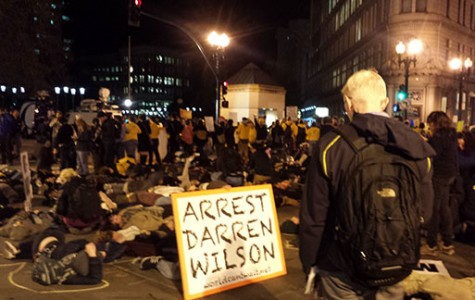 Oakland shows solidarity with Ferguson