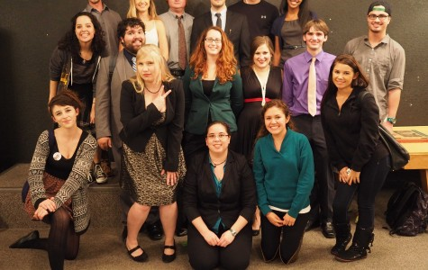 Speech and debate team blends fact and funny at speech night