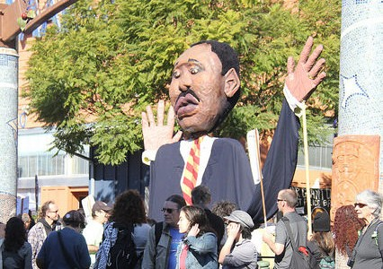Martin Luther King Jr. Day inspires marches through East Bay