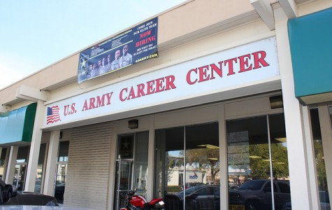 Army Reserve Recruiters visit DVC