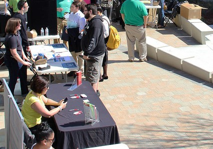 Job fair gives students hire calling
