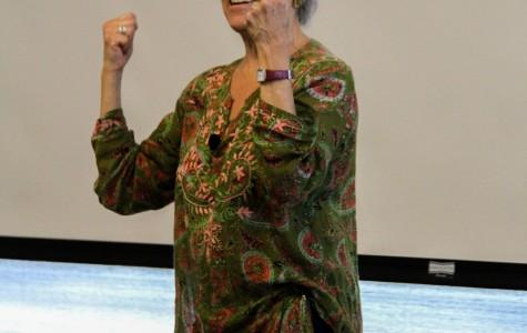 Author Linda Gordon speaks at DVC