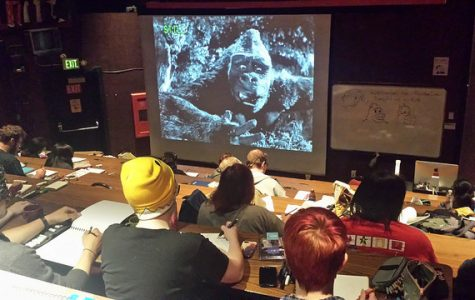 "DVC artists ""Go Ape"" at monster draw"
