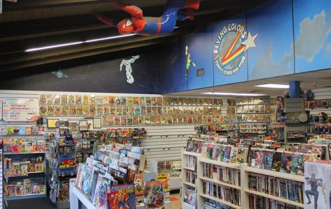 Flying Colors celebrates Local Comic Shop Day with Darick Robertson