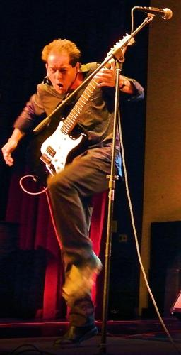 Steve Sage performing at DVC. Courtesy of Linda Sage.