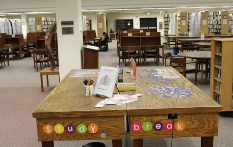 Library puzzles provide welcome respite