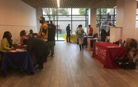 Transfer students benefit from the HBCU fair