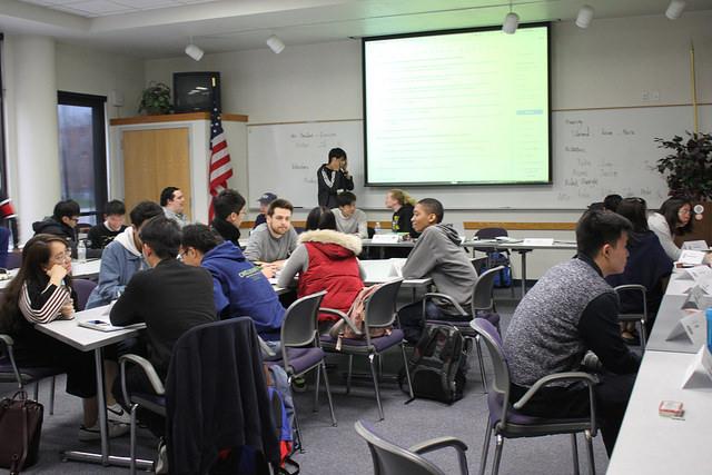 ASDVC+Board+members+attending+to+board+meeting+on+Feb.+7.