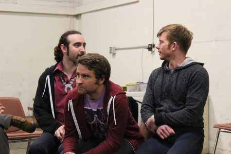 Improv Comedy Team Performs In the Ring