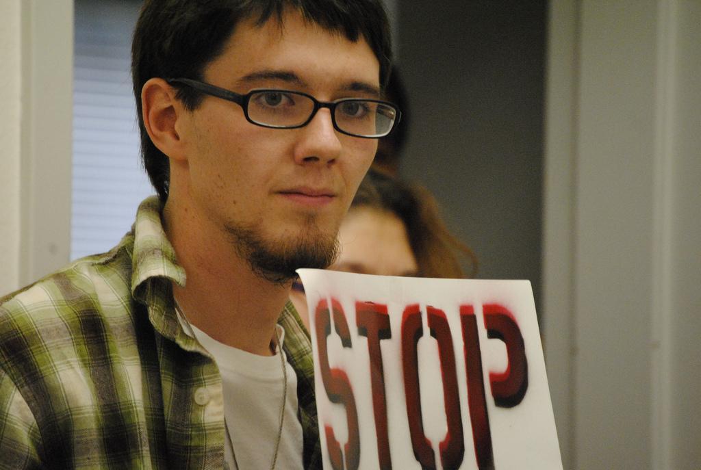 ASDVC VP of Legislative Affairs-elect Brian Donovan. (Courtney Johnson/The Inquirer, 2010)