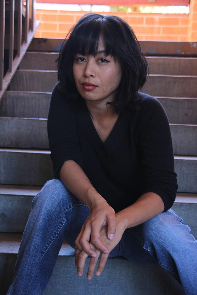 Author and former DVC student Elle Peyarre. (The Inquirer)