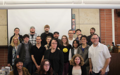 Winners and judges from the Fourth Annual James OKeefe Comic Awards.