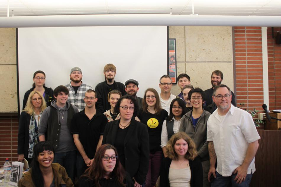 Winners+and+judges+from+the+Fourth+Annual+James+O%27Keefe+Comic+Awards.