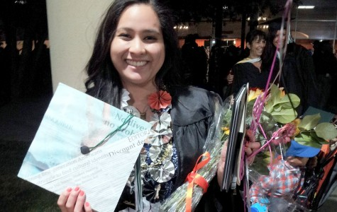 Rachel Reyes earned DVC's first journalism transfer degree.