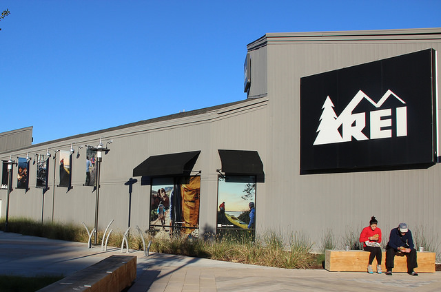 REI store in the Willows Shopping Center, Concord Ca, taken Nov. 11th 2015