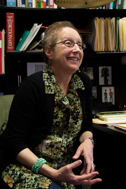 Professor Dr. Goodman speaks with the Inquirer, Thursday, May 12.