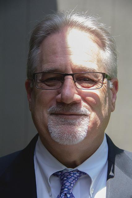 Diablo Valley College President Peter Garcia speaks with the Inquirer Thursday, May 12.