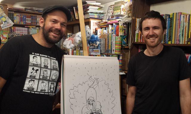 Adam Bessie (left) and Jason Novak (right)