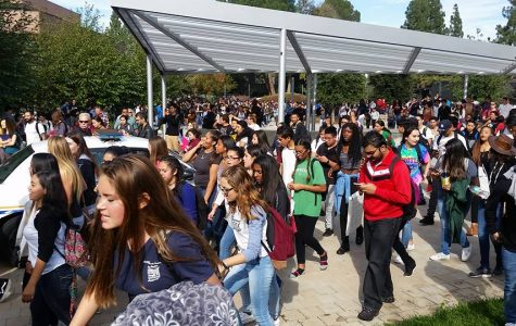 Local high schoolers protest on DVC campus
