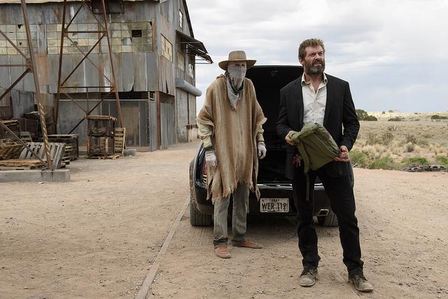 DF-03259 - Caliban (Stephen Merchant) and Logan (Hugh Jackman) in LOGAN.