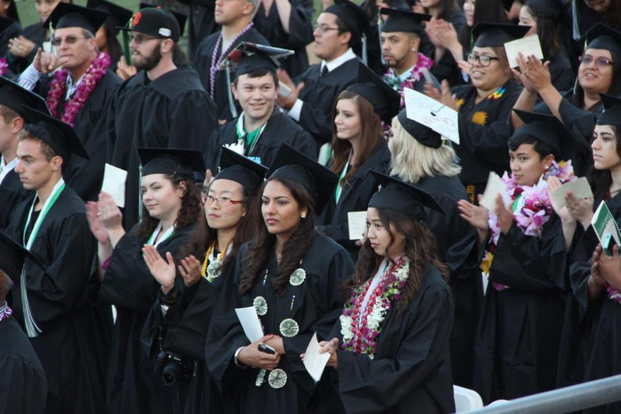 Diablo Valley College graduation on May 21, 2015 at Viking Stadium.  File photo/Inquirer