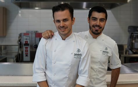 Chefs of Walnut Creek restaurant give tapas cooking demonstration at DVC