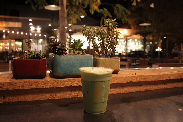 Coffee Shop provides for the matcha craze.