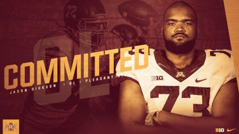 Highly-touted recruit Jason Dickson commits to the University of Minnesota