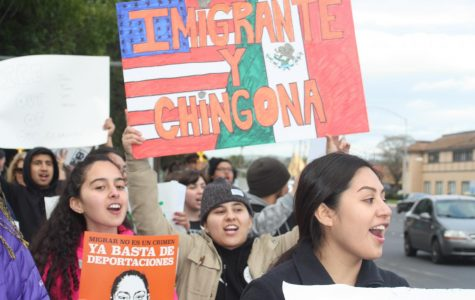 DVC students stand with undocumented community against ICE raids