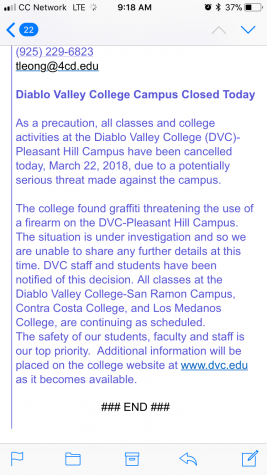 President Susan Lamb addresses threats made by DVC student
