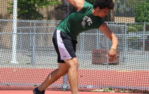 Throwing the Distance: From DVC athletics to possibly the Olympics
