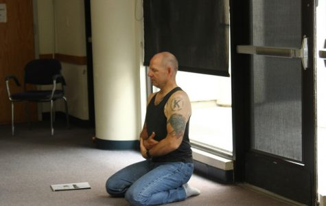 Reducing stress workshop through yoga