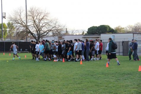 Spring ball jump-starts offseason for Viking football