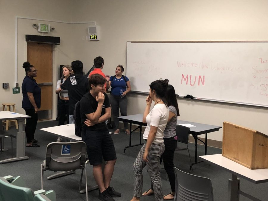 DVC Model United Nations club meeting 9/25/2018. (Sean McKenna/The Inquirer)
