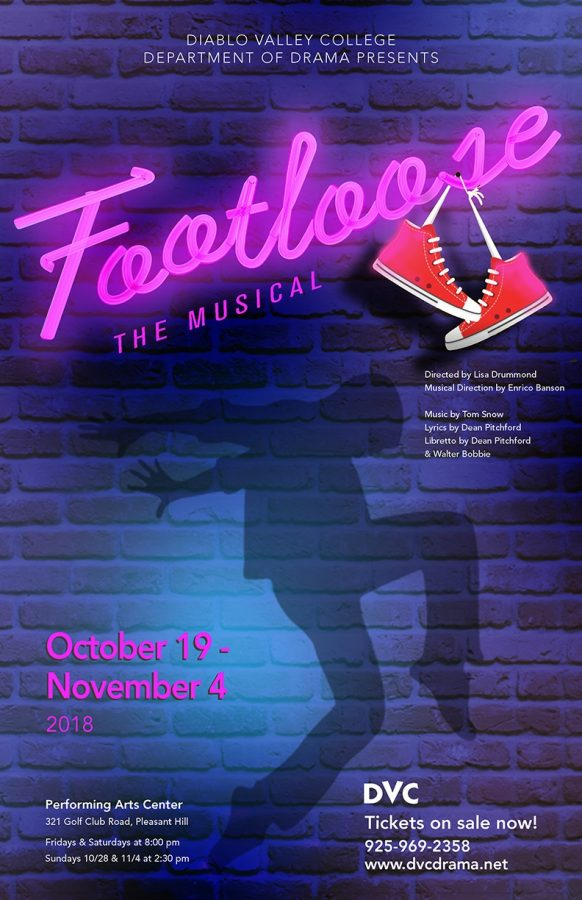 The+poster+for+%22Footloose+The+Musical%2C%22+which+shows+on+Oct.+19+to+Nov.+4+by+the+DVC%27s+Drama+Department.++%28Courtesy+of+Lisa+Drummond%29