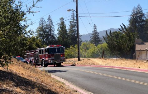 A Small Grass Fire Was Put Out Near Campus