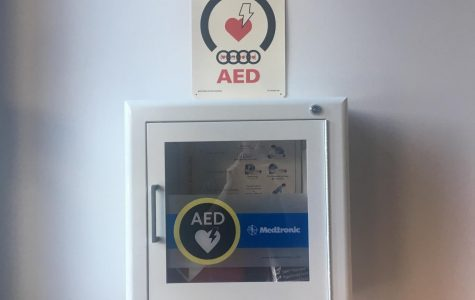 Safety Committee meeting reviews AED needs and concerns at the college
