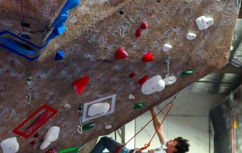 Climbers gather to send routes and sip coffee at Touchstone Climbing Series competition