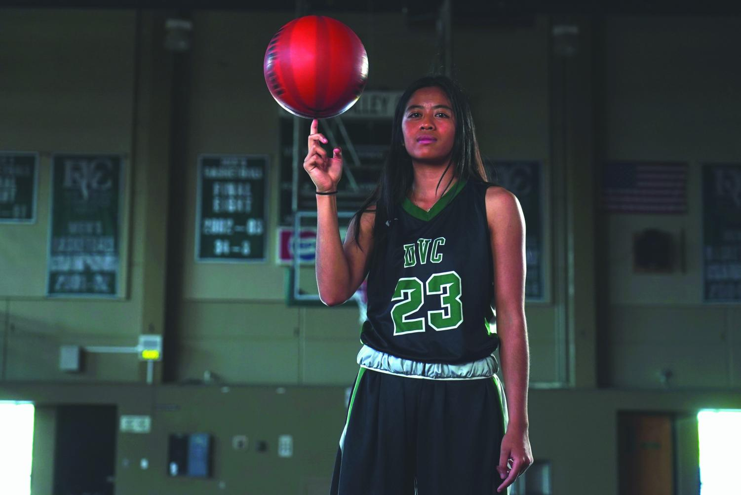 As a point-guard for the Vikings, Jasmine Kong had shown strong dedication on the court. However, in her personal life, she has had to persevere. (Ethan Anderson/The Inquirer).