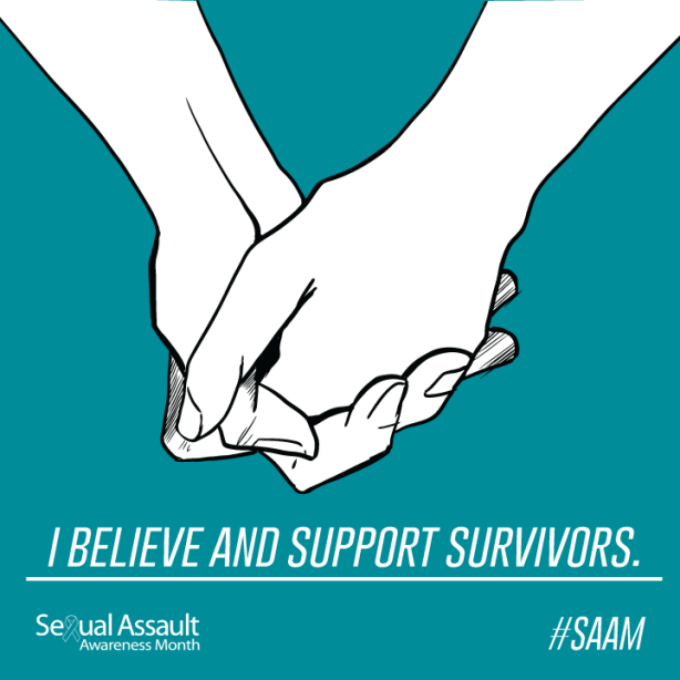 In a society that shames and intimidates victims, it is vital to believe those impacted by sexual assault. (Photo courtesy of Susan Sullivan).