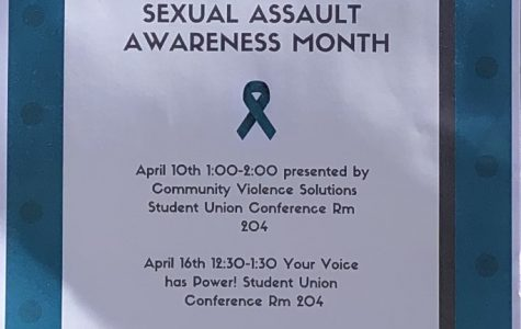 Brown bag workshop flyer for both workshops on sexual awareness month at Pleasant Hill campus (Photo courtesy of Brown Bag Series)
