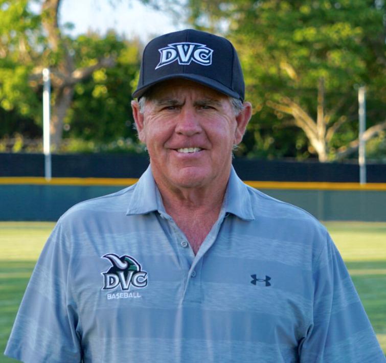 DVC names Dennis Luquet Head Baseball Coach. (DVC Athletics)