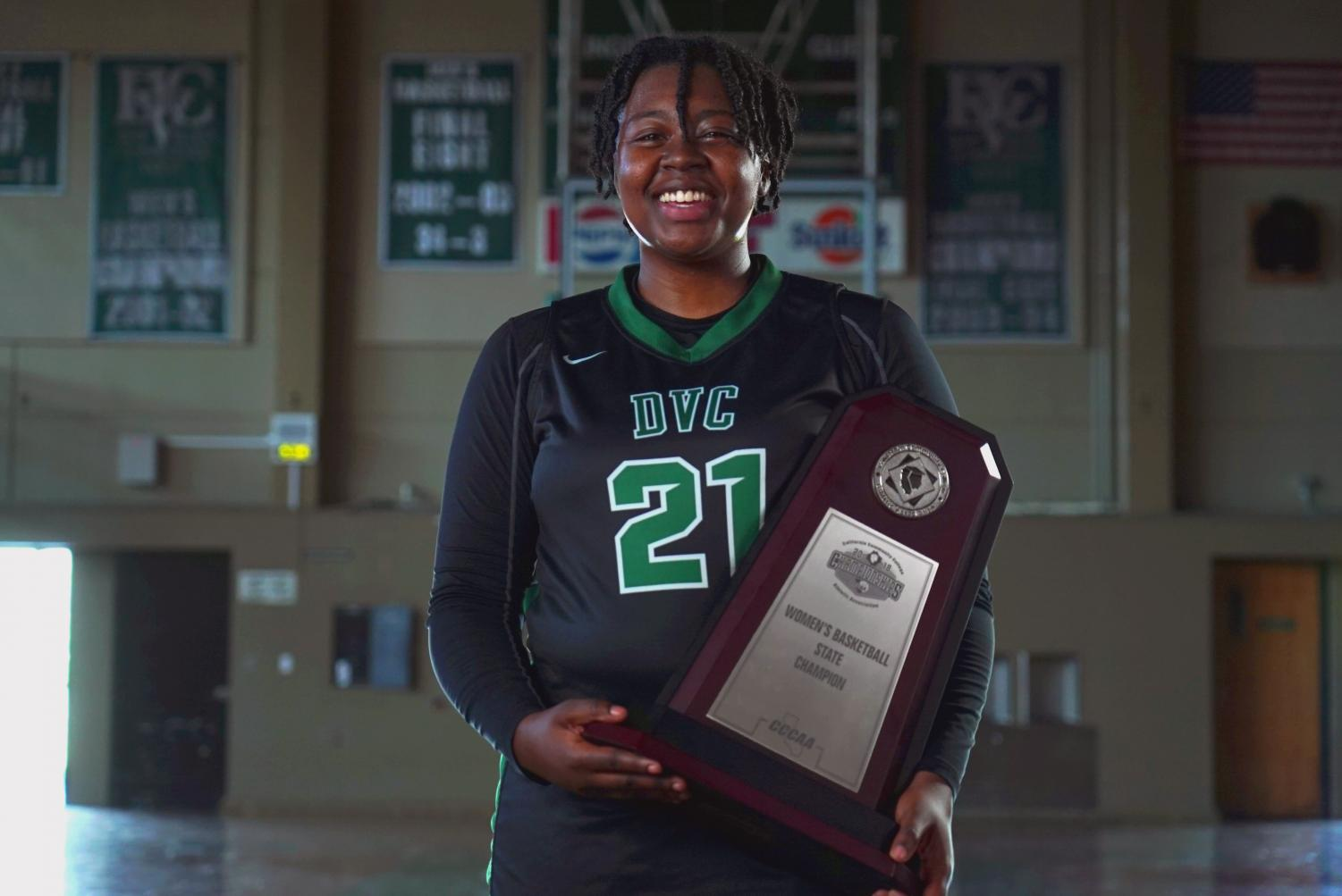 Zahria Hendrix was awarded with MVP honors this season, making her a star on the court. (Ethan Anderson/The Inquirer).
