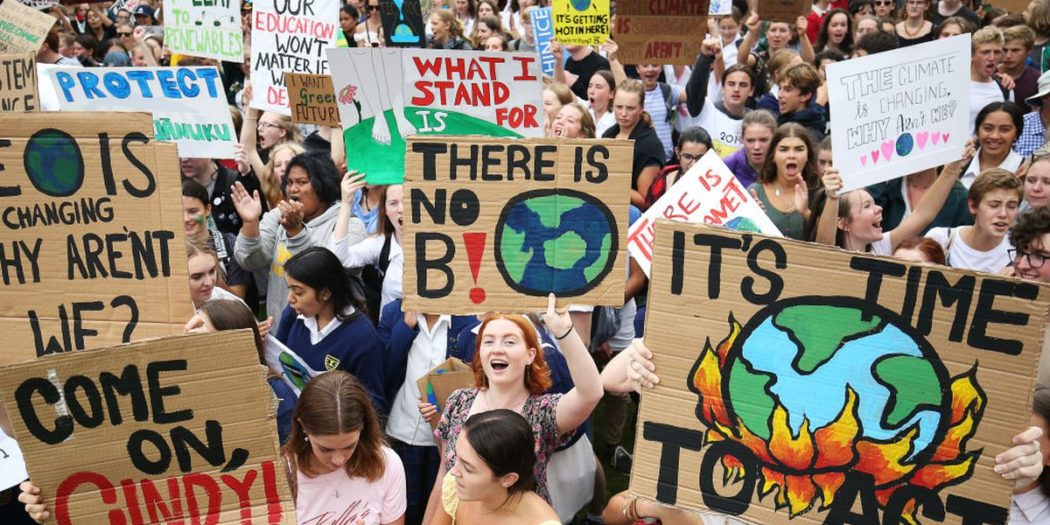 The Global Climate Strikes have started a movement around not only awareness about climate change, towards a demand for action. (Photo courtesy of Aspen Real Life).