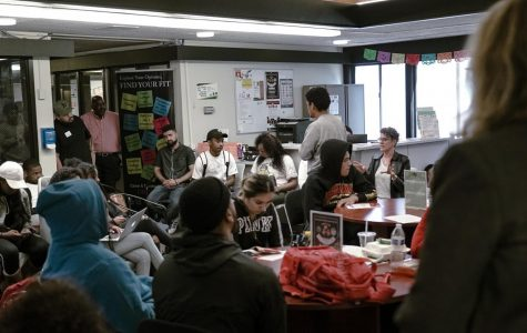Campus racism confronted in student and faculty open forum