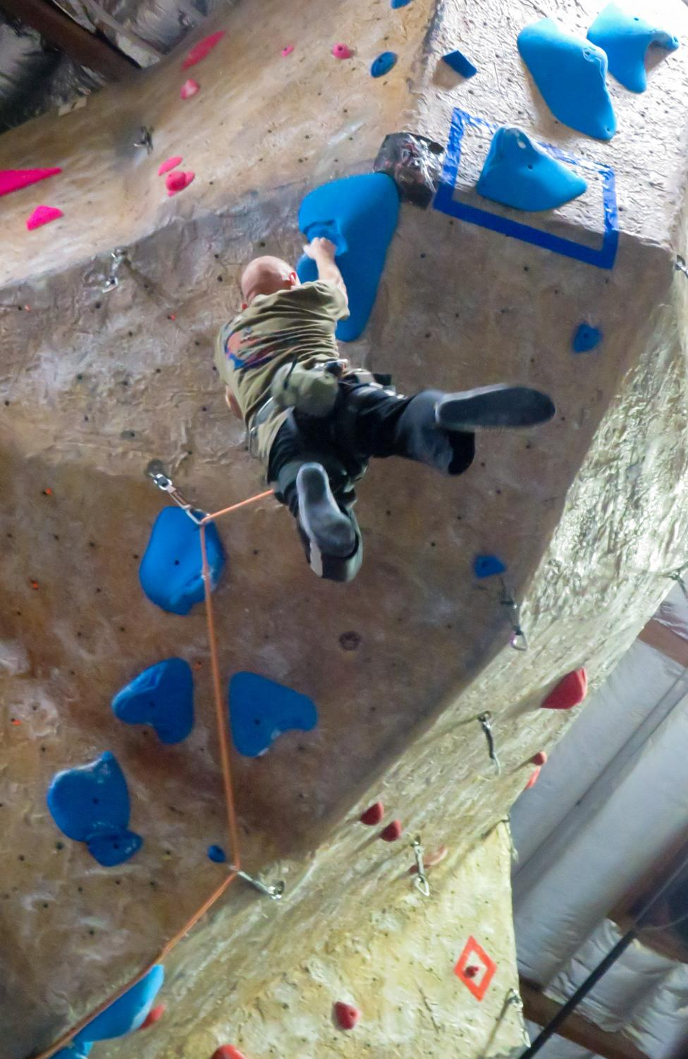 Diablo Rock gym now offers new access perks for DVC students (Pavlina Markova/The Inquirer)